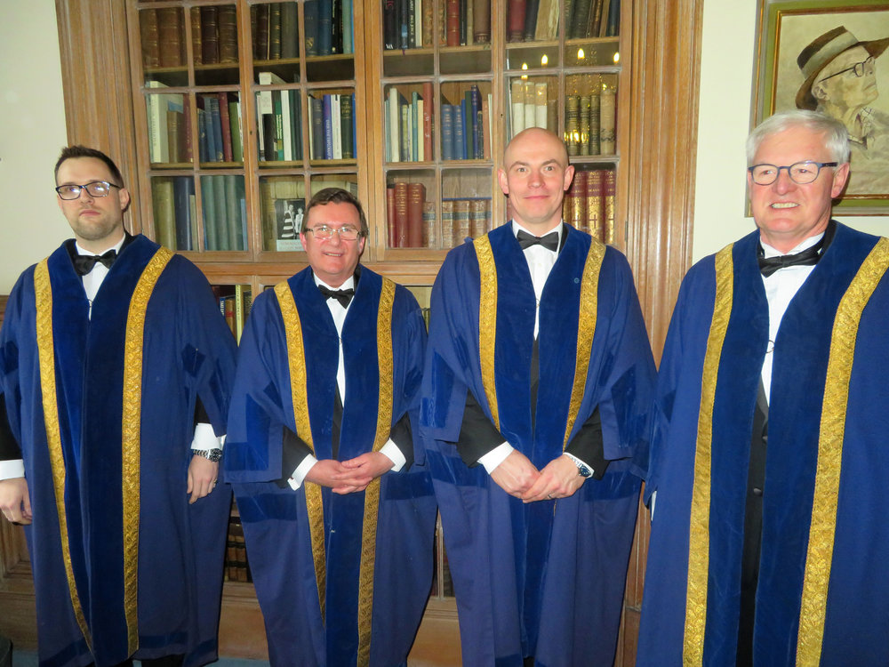 Lewis Speke, Michael Whitson, Mark Hyde & Andrew Brown