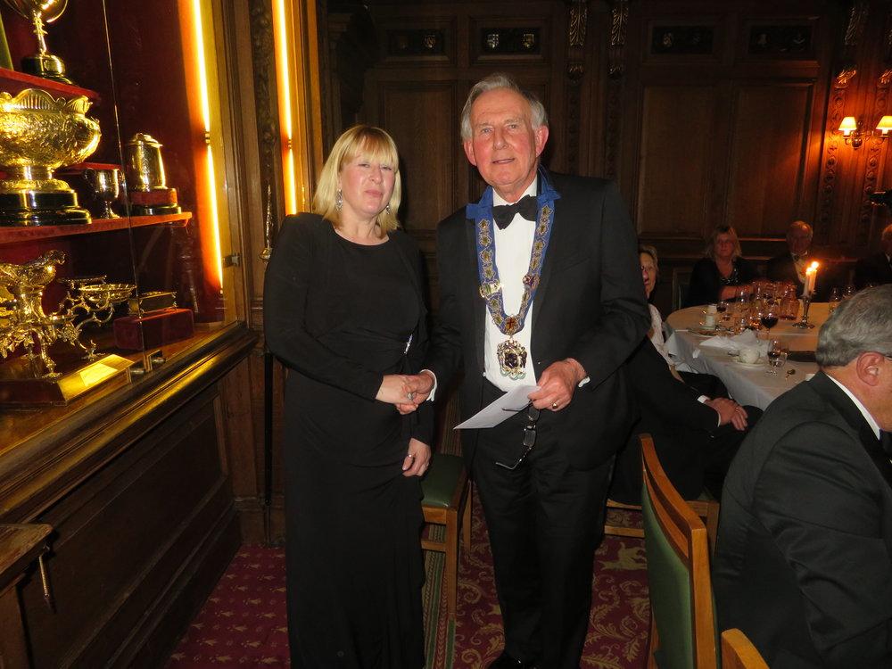 Miss Melanie Moughton CEO Felix Fund & The Master