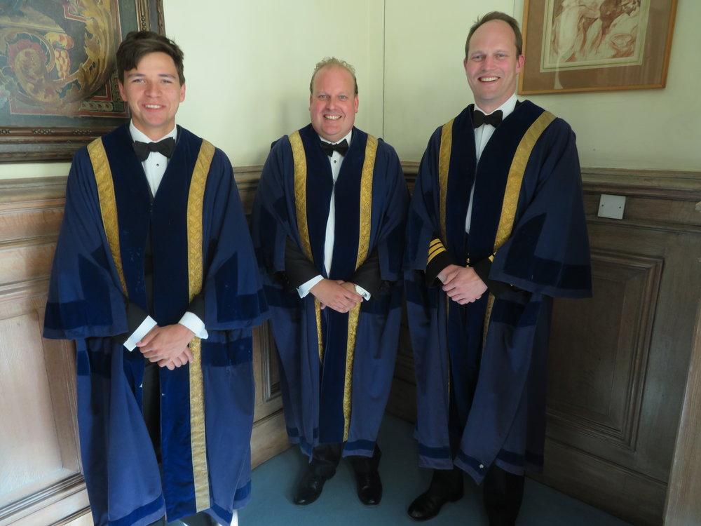 Sebastian Budd, James Howarth, Stuart Finn RN