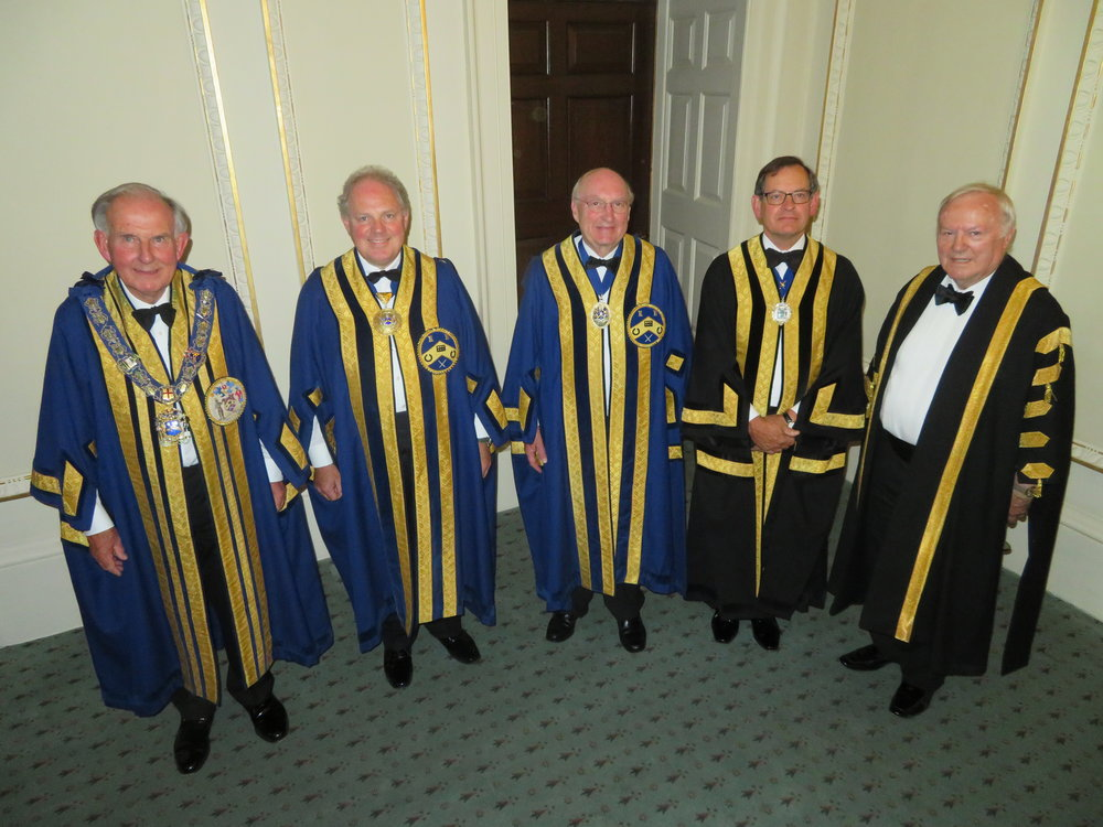 The Master, First Warden, Second Warden, Clerk & Beadle