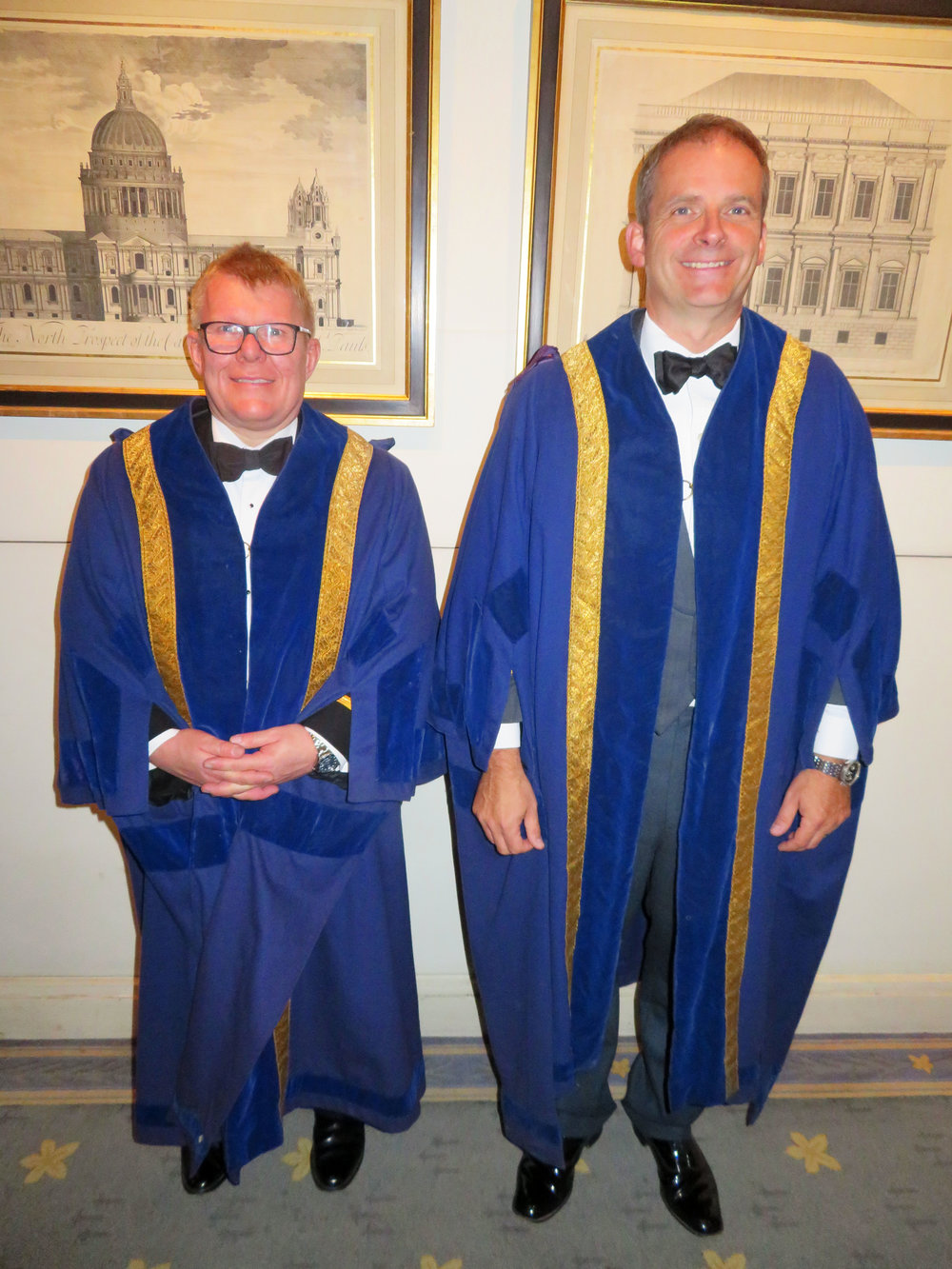 Liverymen Alistair Marshall & Michael Carver