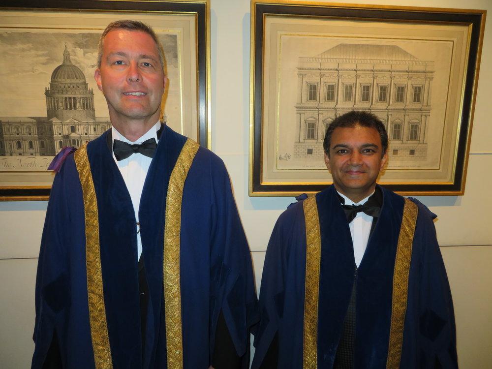 Liverymen Xavier Walker & Ramji Chauhan