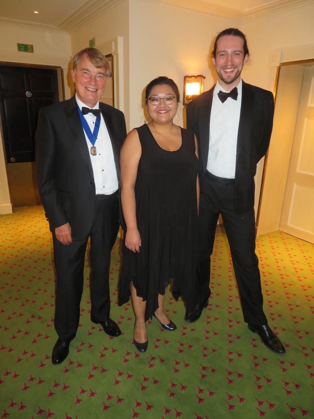 Assistant Roger Carter, Pianist Michelle Santiago & Tenor Jack Holton
