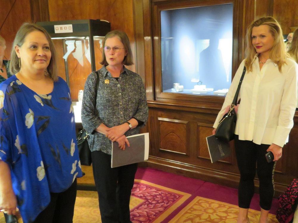 Judge Liveryman Jean Scott-Moncrieff with Teri Howes & Liigah Thrower