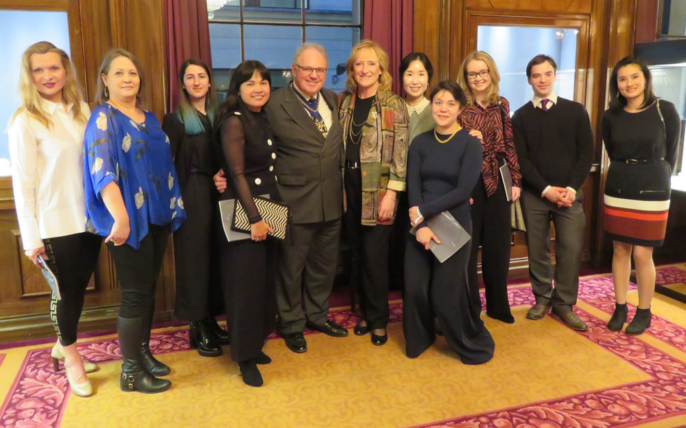 Master & Mistress with Current and Passed Prizewinners