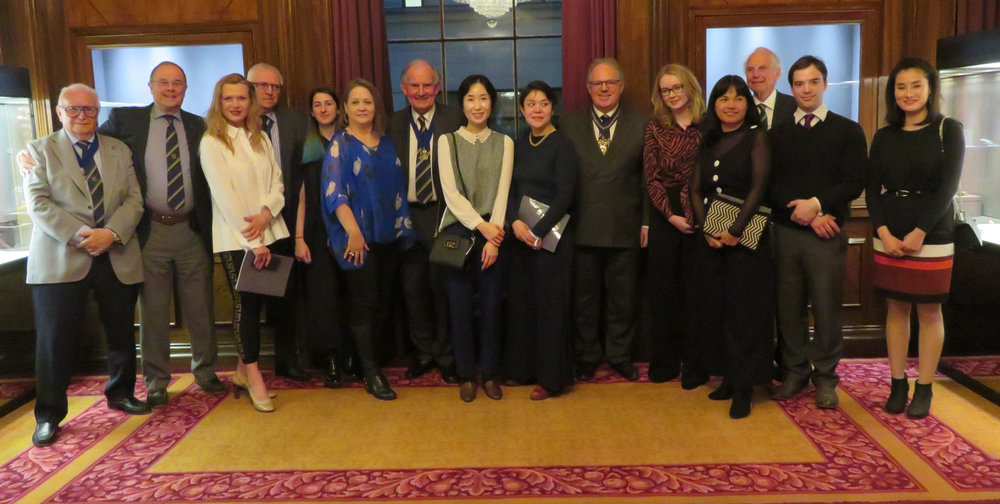 Master, Past Masters and Prizewinners