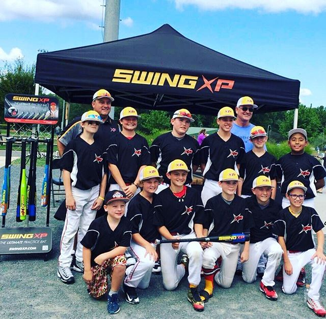 Tourney Weekend! Team Swing XP Baseball BLACK pays a visit to the XP Tent at Ripken Baseball #Aberdeen! These boys went all the way to the finals but came up just short. We are very proud! Pictured top right is Swing XP CEO Chris Shocklee. Hope everyone had a great Labor Day Weekend! #DominateThePlate swingxp.com