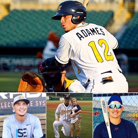 Our guy Willy Adames has been selected to the The Southern League Minor League Baseball Postseason All-Star Game. Go Willy! How can you not love this guy? #BrightFutureWilly