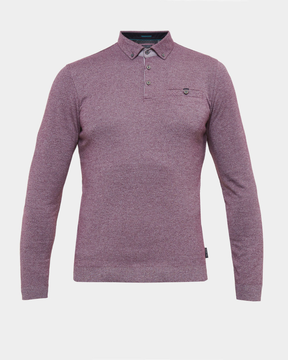 Ted Baker Long Sleeve Polo — What is a Gentleman 86b9988a61ea