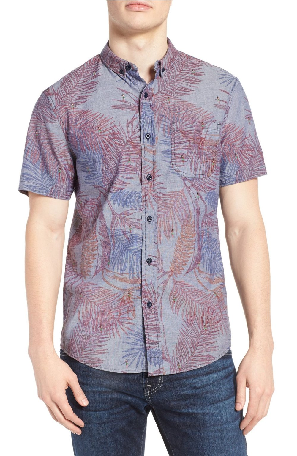 1e8f0879 1901 Hawaiian Embroidered Woven Shirt — What is a Gentleman