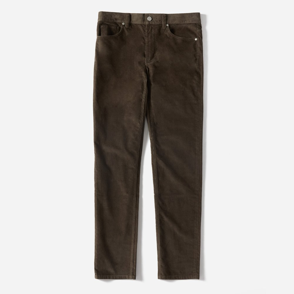 Everlane Corduroy 5-Pocket Slim Pant