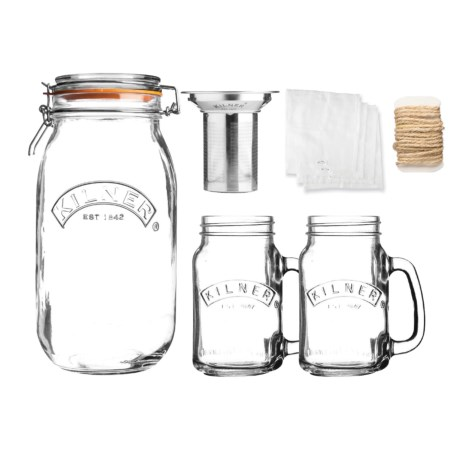 Kilner Cold Brew Coffee Brew Kit