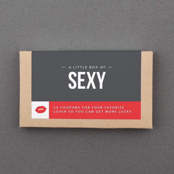 Esty Little Box of Sexy Love Coupons - $20