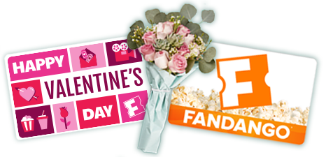 Fandango Gift cards- $15-$100 *