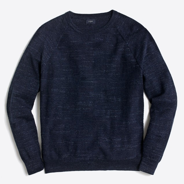 jcrew fac texture cotton sweater- navy heather.jpeg