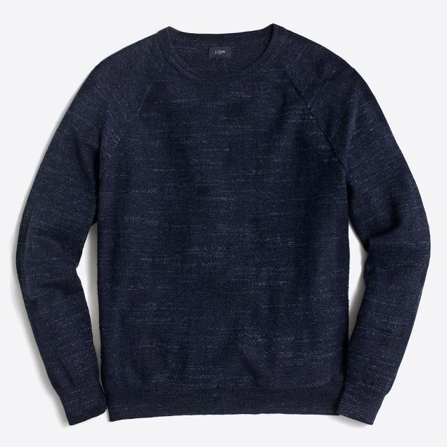jcrew fac texture cotton sweater- navy heather.jpeg