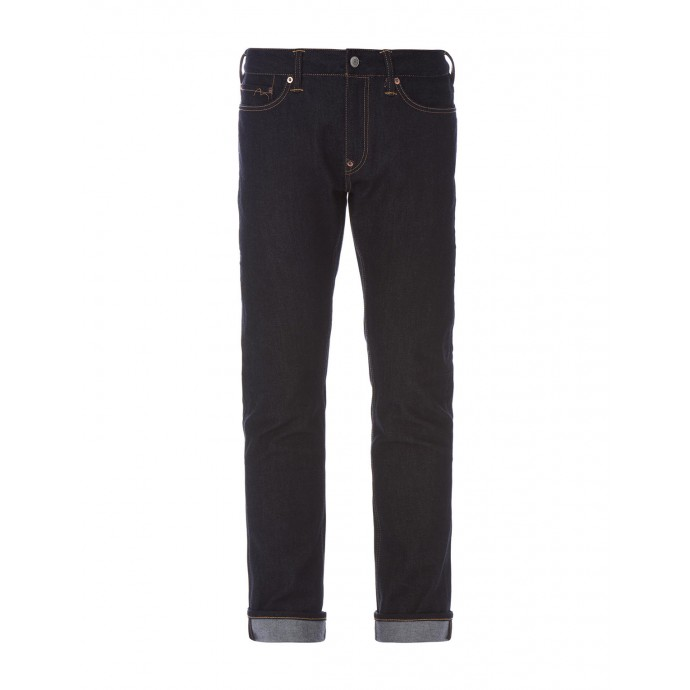 Evisu Stretch Skinny-fit Embroidered Jeans - A more liberal version of raw denim, these have large logos embroidered on the back pockets, perfect for showing off to other denim heads, perfect for the more flashy wearer.*