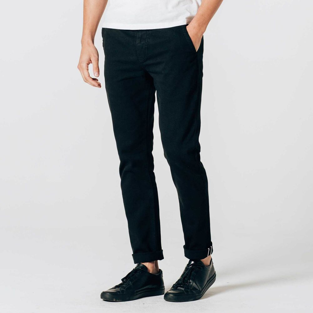 DSTLD Slim-skinny selvedge chinos- black.jpg