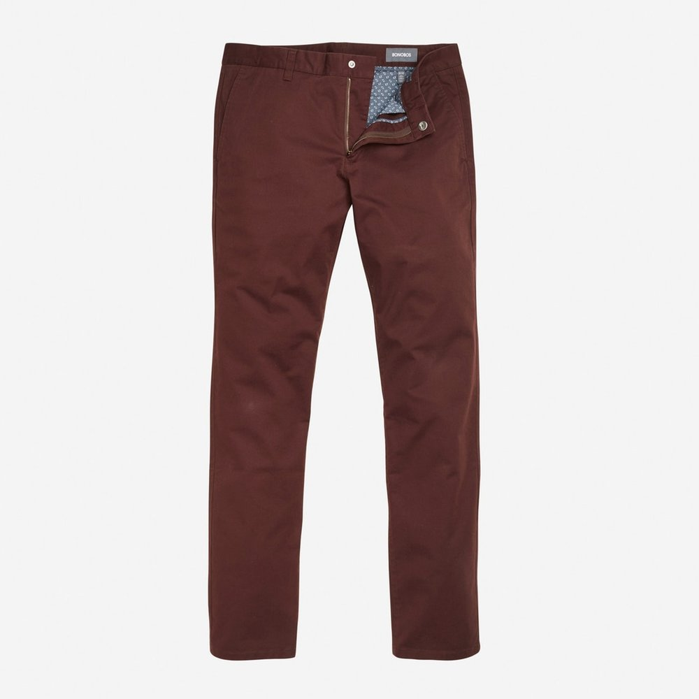 Bonobos Stretch Washed Chinos- maroon.jpg