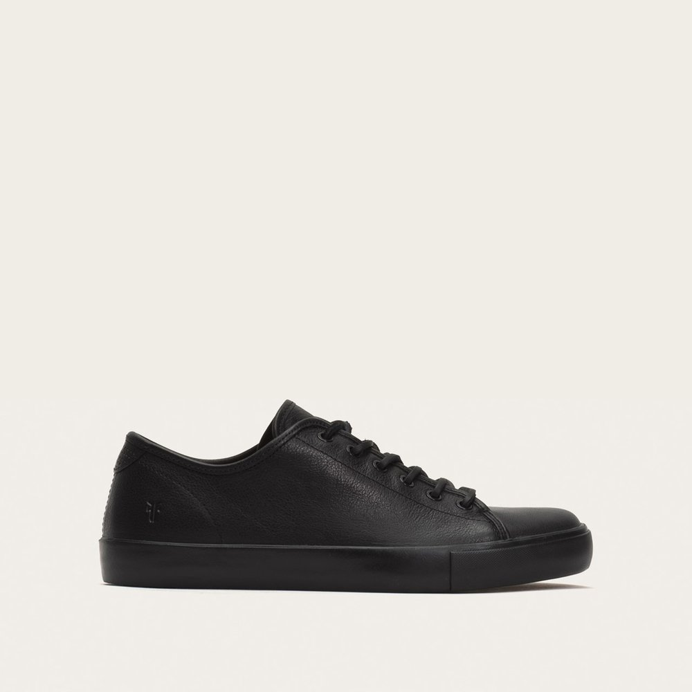 Frye Brett Low Leather sneakers - black.jpg