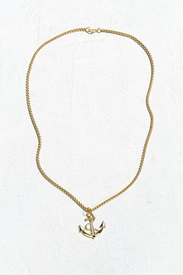 UO golden anchor pendant neckless.jpeg