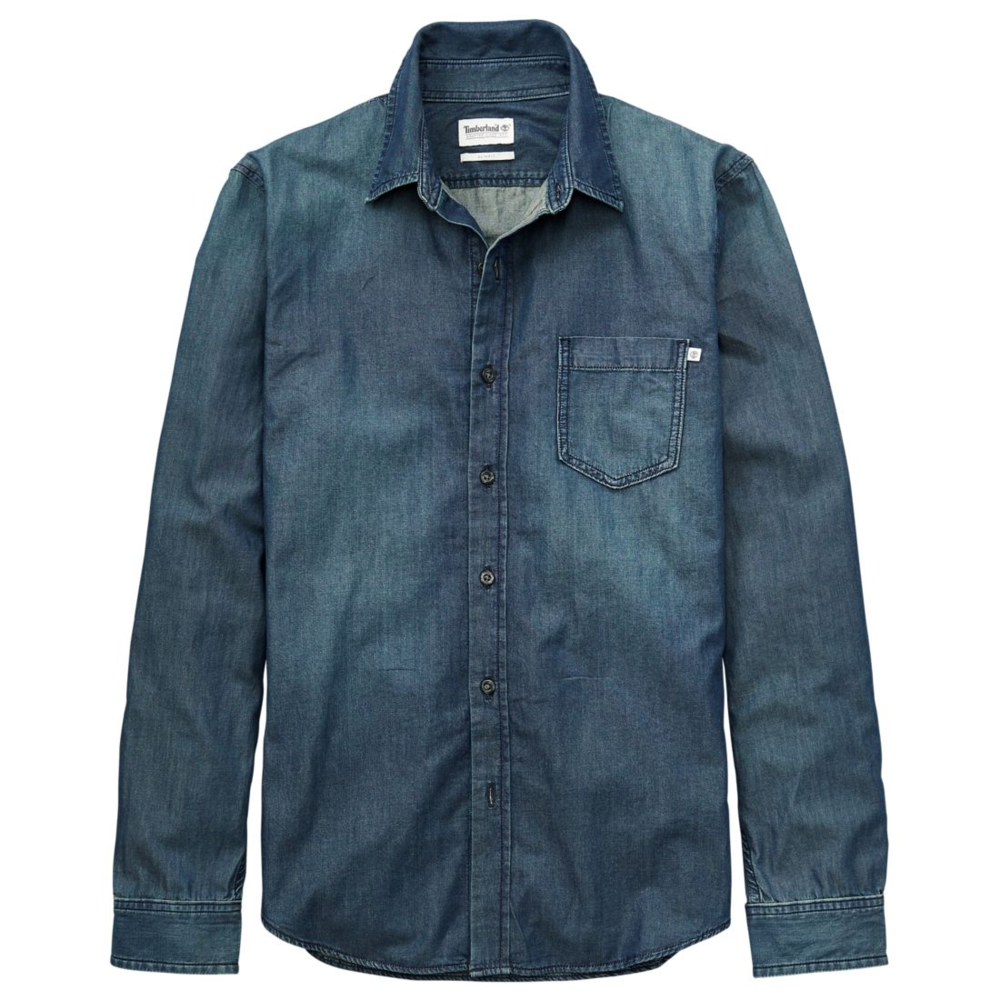 timberland faded indigo denim shirt.png