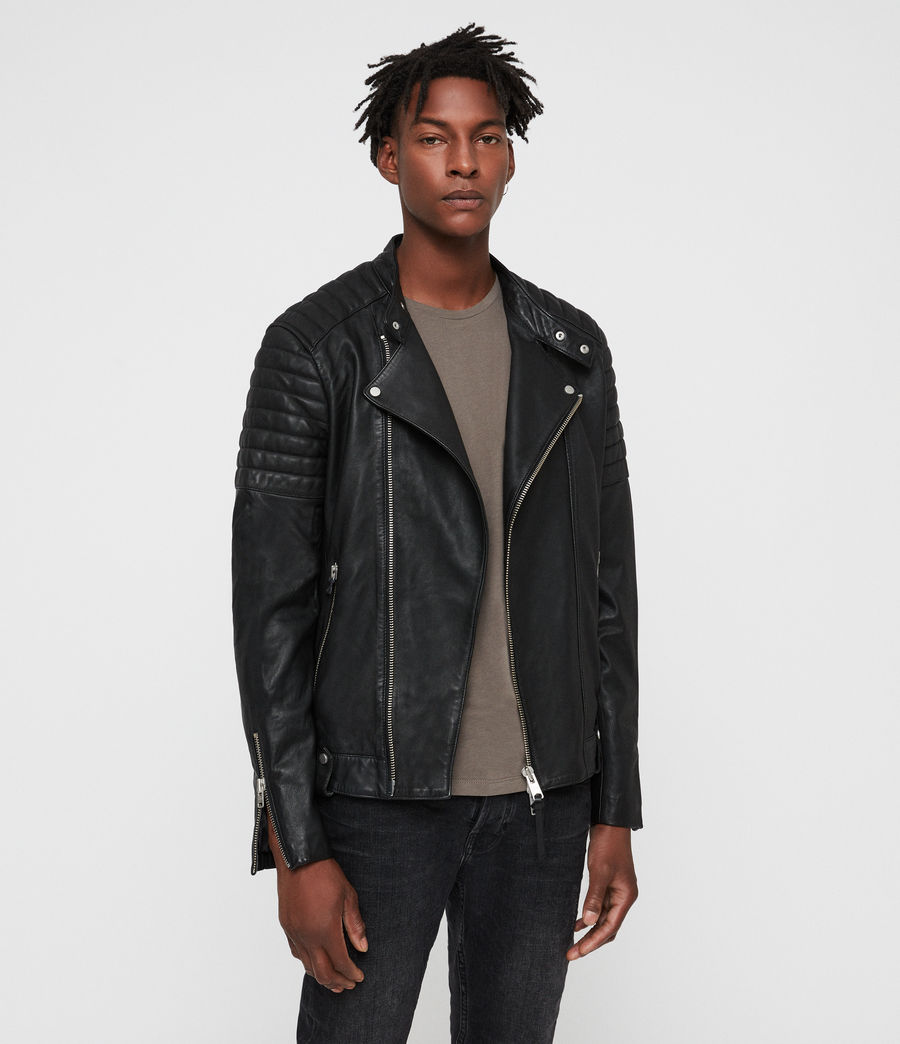 All Saints Jasper Leather Biker Jacket -
