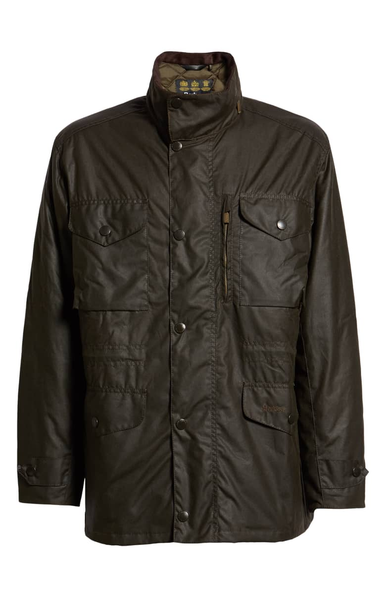 Barbour Sapper Regular fit Waterproof Waxed cotton jacket.jpeg