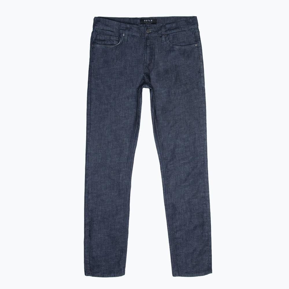 DSTLD Skinny-Slim Dark Wash Jeans