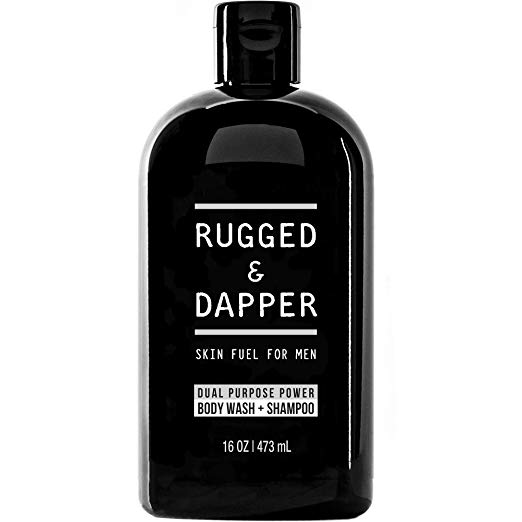 Rugged & Dapper Skin Fuel Body Wash and Shampoo