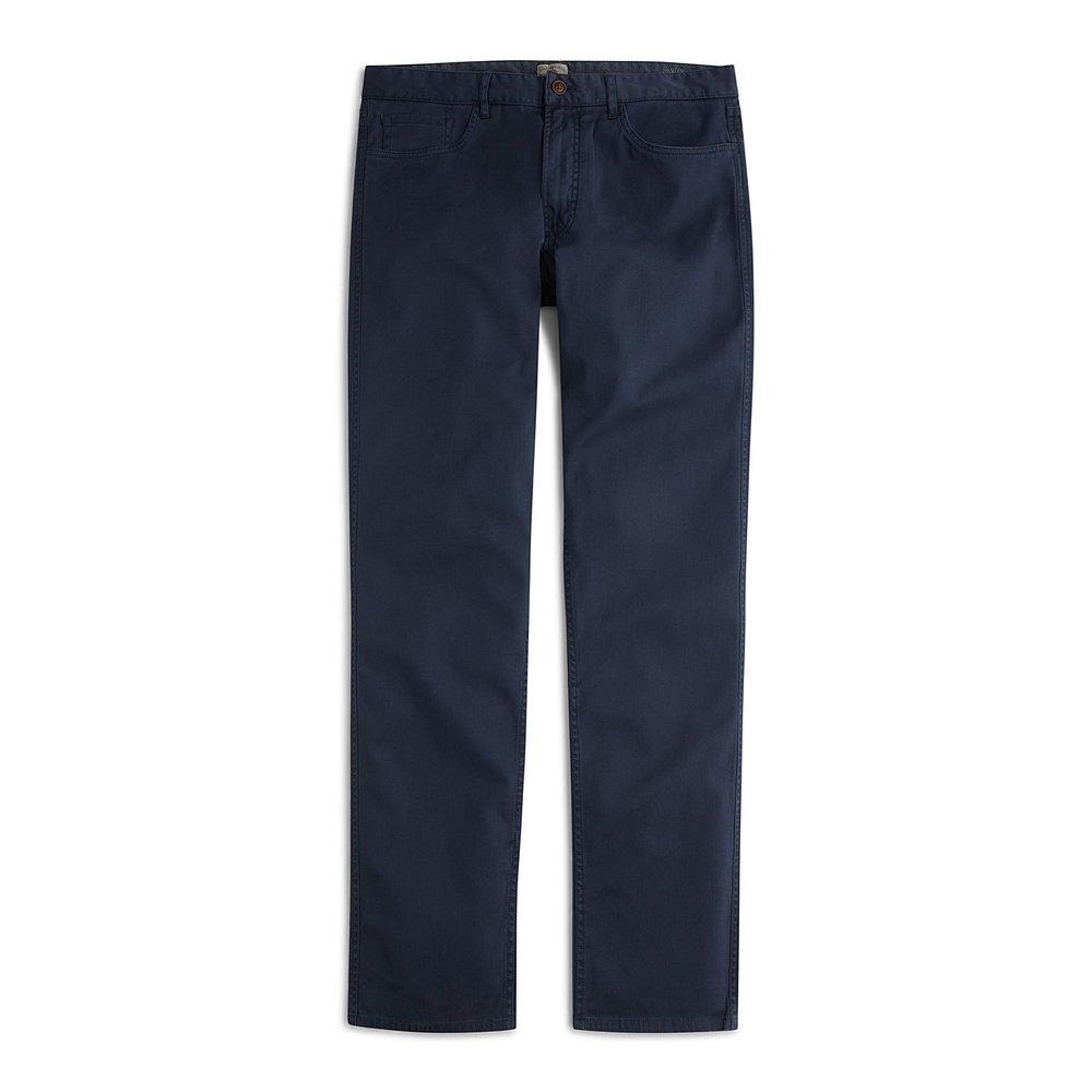 Faherty Comfort Twill 5-Pocket Chinos
