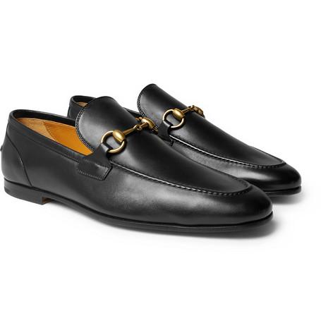 f4c609390d3 Gucci Horse Bit Leather Loafers ( 730) via mrporter.com