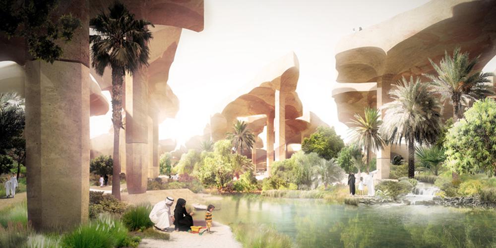 Al Fayah Park - Heatherwick Studio