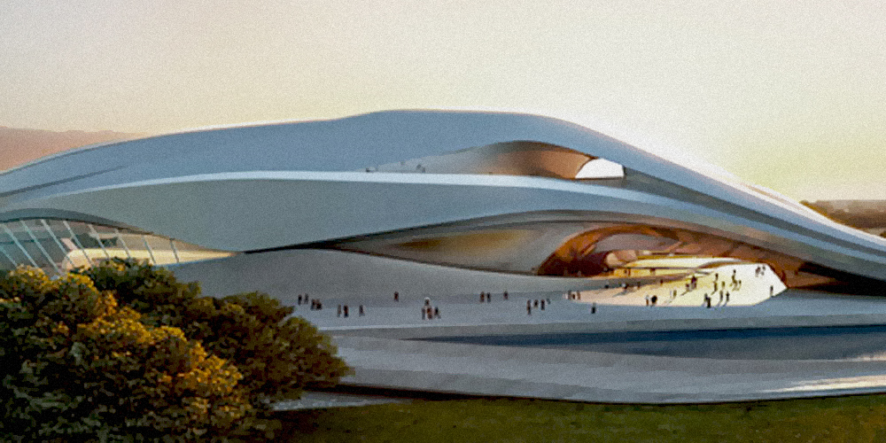 Royal Theatre of Rabat - Zaha Hadid