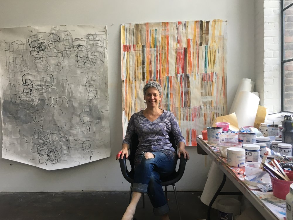 barbara smith gioia in her studio