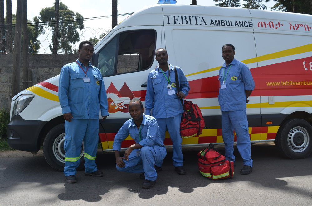 Photo Courtesy of Tebita Ambulance