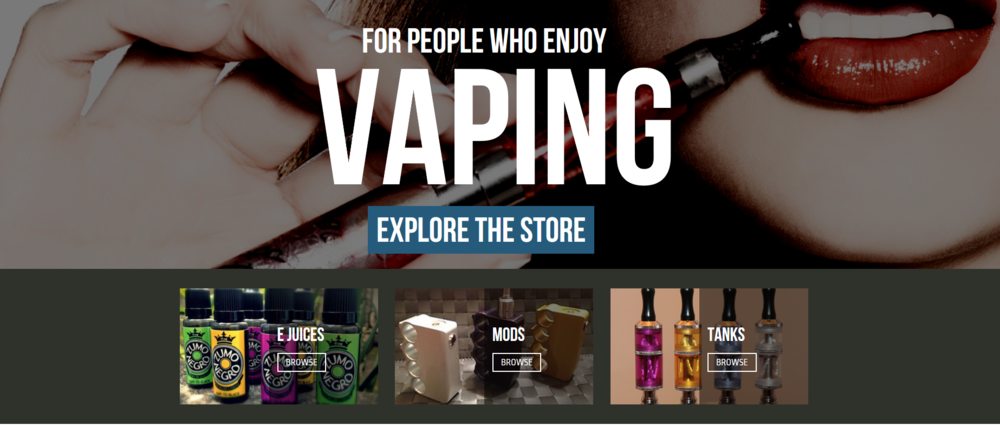 The Online Vape Store