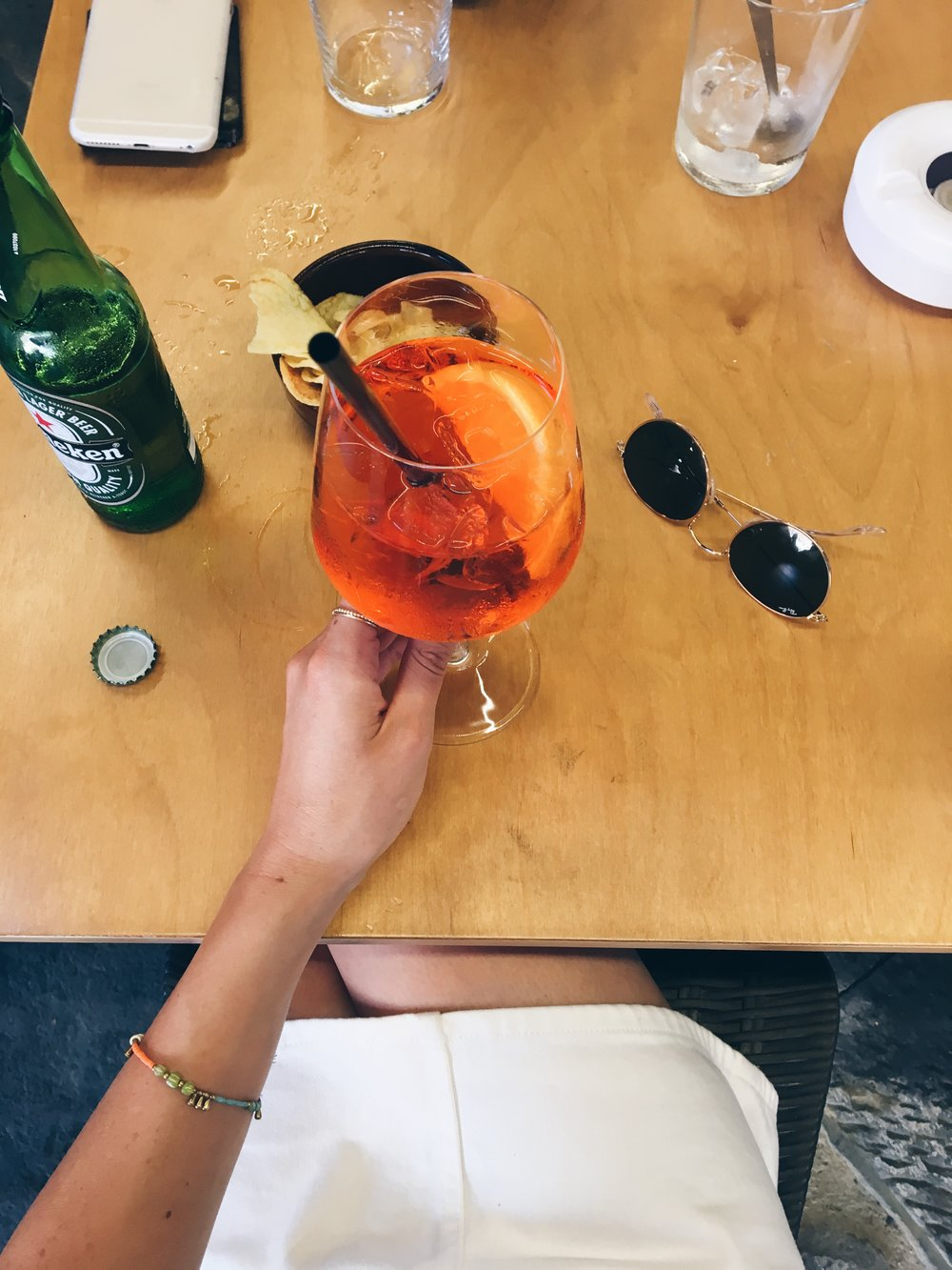Daily afternoon Aperol Spritz