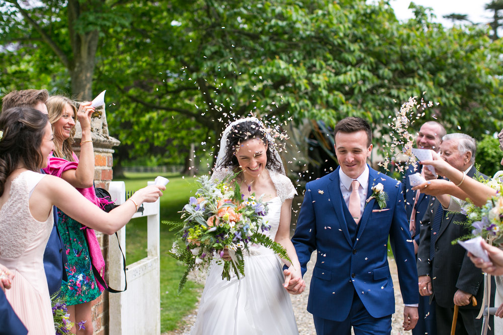 I love this photo - it has so much movement and captures the emotion perfectly. I love seeing these images as like Cinderella, I am not privy to this moment in real time until the couple or the photographer share an image such as this with me.  It is with much pride that I see my flowers (and the months of planning and preparation) come together in a capture such as this. To know my small effort will forever be part of their wedding memories. Looking at this image gives me goosebumps (of happiness).