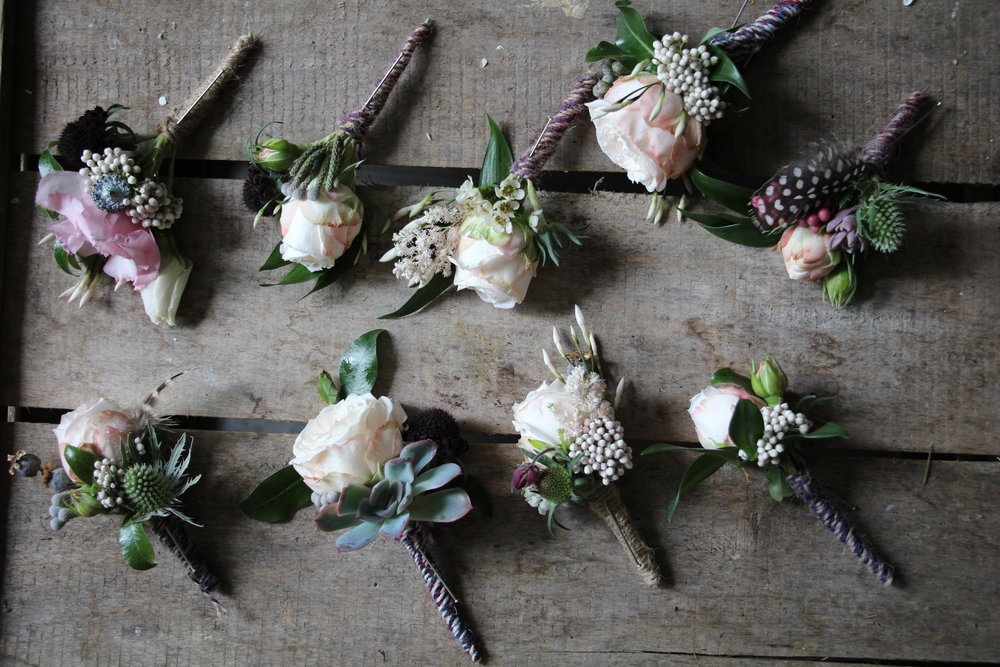 The Buttonholes.