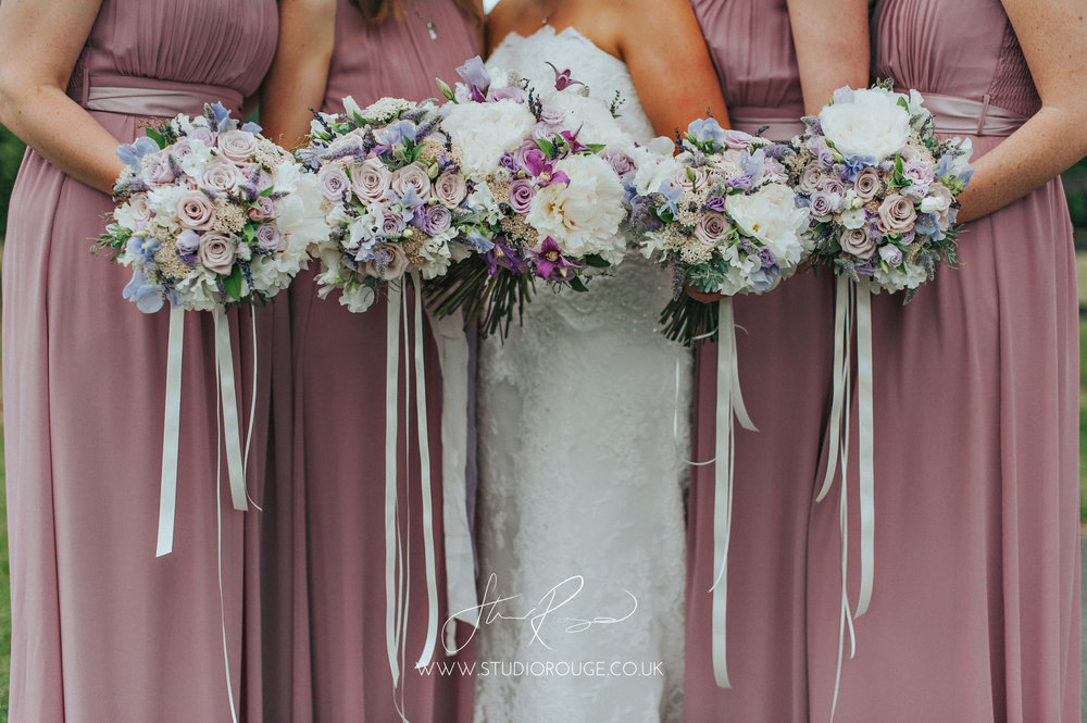 Jo and her maids. Gorgeousness from last month at Wasing Park and captured by Studio Rouge