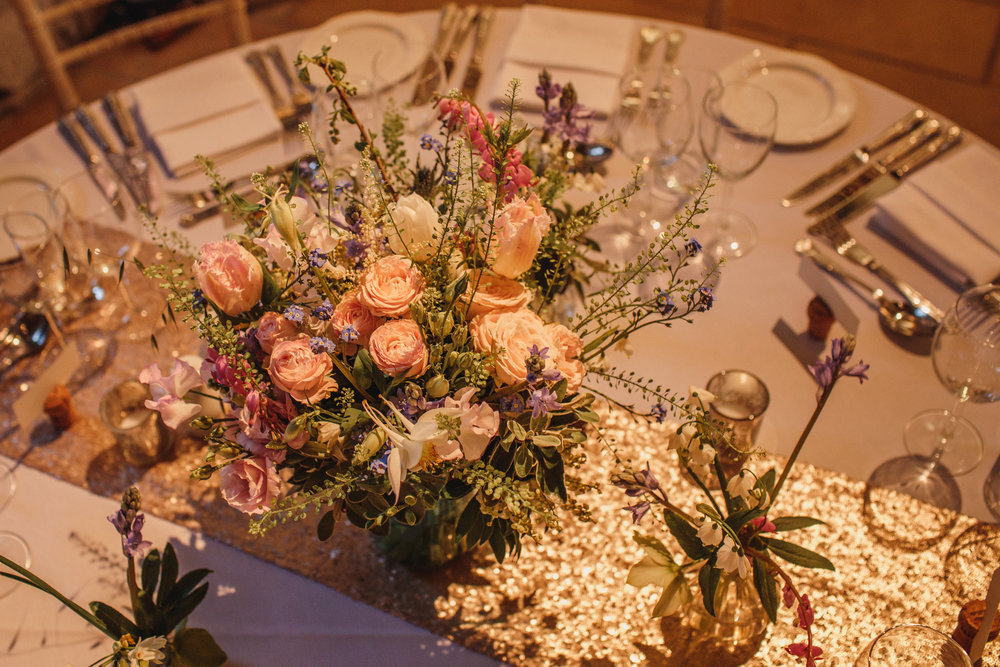 Glitter & pastels for a wedding... yes please!