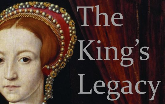 Logo for  The King's Legacy  at Bristol Valley Theater