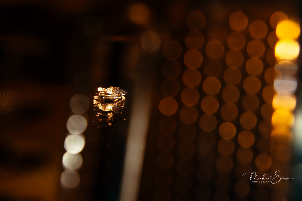 Wedding Rings by Winnipeg Wedding Photographer Michael Scorr