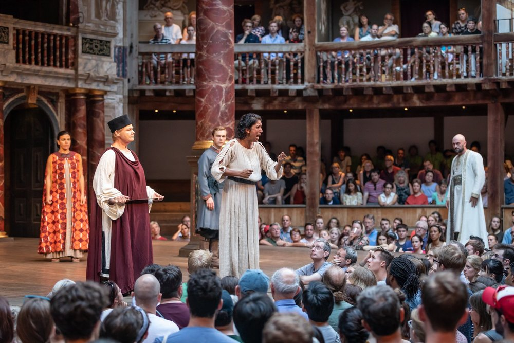 I'd love to see a Shakespeare production? -