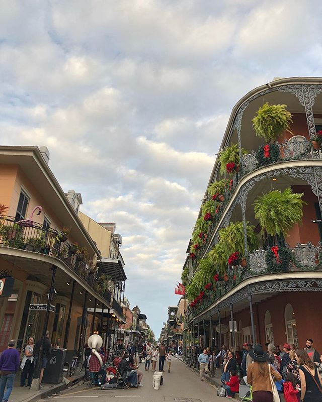Back in Nola for a wedding on Saturday-Laissez les bons temps rouler! #nola #frenchquarter #neworleanslife . . . . , . . #nawlins #nolaphotography #thebigeasy #travelbook #traveldiary #mytravelguide #mytravelgrams #mywherever #travelstoked #exploreeverywhere #exploreeverywhere #yahootravel #cntraveler #tlpicks #goopgo #awesomeplaces #globetrotters #nolalove #alwaysneworleans