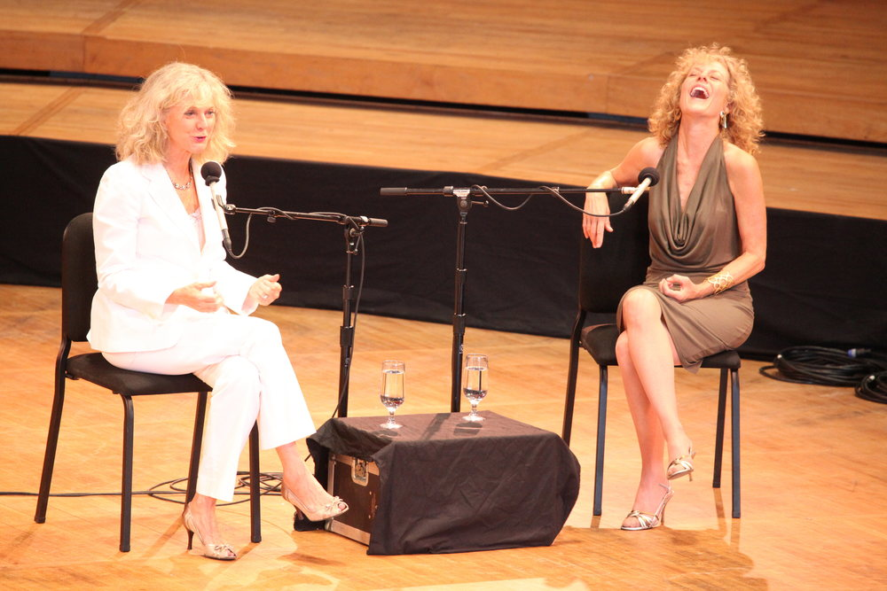 Blythe Danner and Judy