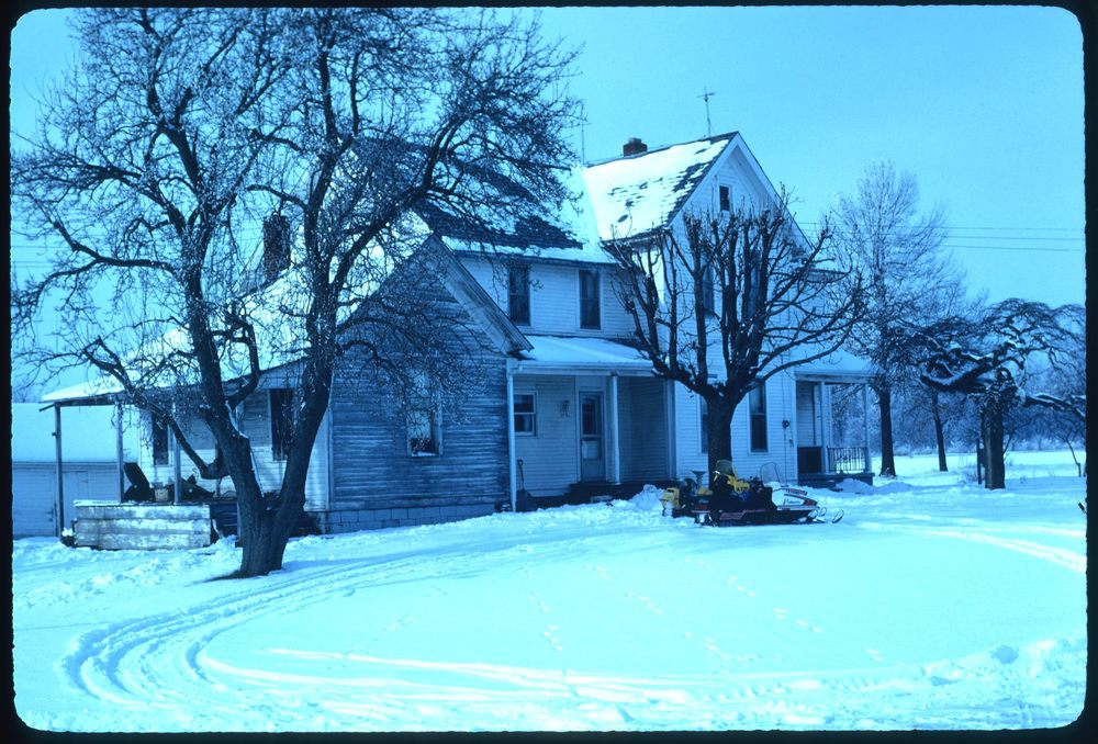 Bultemeier farm house, January 1982