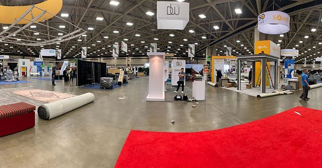 #ifaiexpo2018 Aftermath. Thanks for the great times and inspiration! Bio link to read more behind the scenes happenings. Until next year. . . . #fabric #contractsewing  #tradeshow #madeinamerica🇺🇸