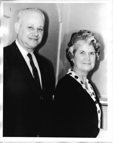 Harold and Gene Chism. Circa 1960.